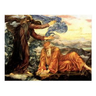 Earthbound durch Evelyn De Morgan Postkarte