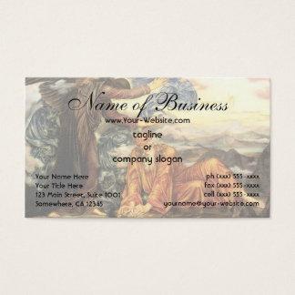 Earthbound durch Evelyn De Morgan Visitenkarte