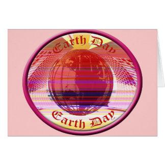 Earthday Shirts und Geschenke Grußkarte