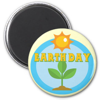 Earthday Shirts und Geschenke Runder Magnet 5,7 Cm