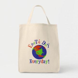 earthday tägliches einkaufstasche