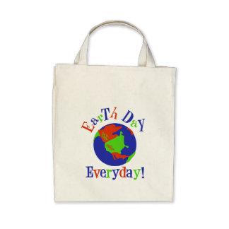 earthday tägliches einkaufstaschen