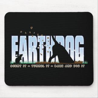 Earthdog Farbentwurf Mousepads