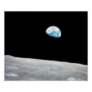 Earthrise - die Mondperspektive Poster