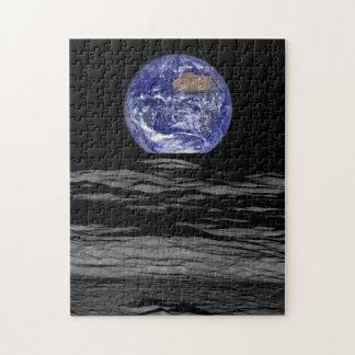 Earthrise vom Farside des Mondes Puzzle