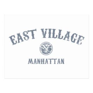 East Village Postkarte