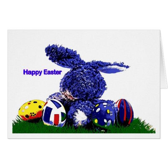 Easter Card Bunny Karte