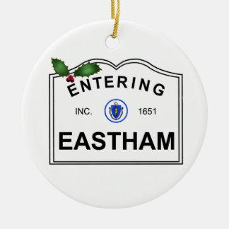 Eastham MA Keramik Ornament