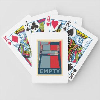 Eastwooding das Obama-Stuhl-lustige politische Spielkarten