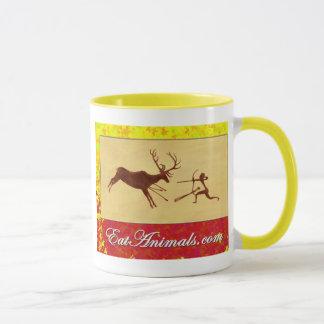 EatAnimals.com-Herbst-Logo-Tasse groß Tasse