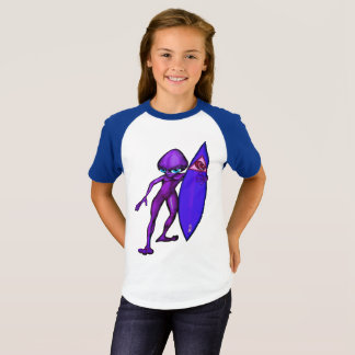 Ebe von richten Stern-SurferAnime aus T-Shirt