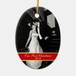 Eben erste Weihnachtsverzierung Mittwochs Weihnachtsbaum Ornamente