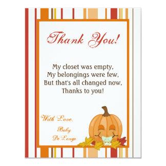 EBENE 4x5 Danken Ihnen, Herbst Fall Kürbis Baby Zu 10,8