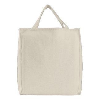Ebenen-freier Raum über Stickerei der Schulter-Tas Bestickte Einkaufstasche