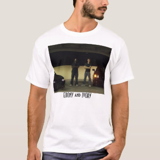 EBENHOLZ-ELFENBEIN T-Shirt