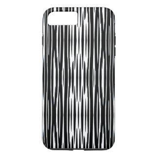 EBENHOLZ u. ELFENBEIN (Zebrastreifen) ~ iPhone 8 Plus/7 Plus Hülle