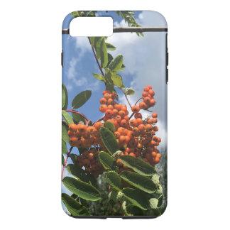 Eberesche-Baum mit Beeren iPhone 8 Plus/7 Plus Hülle