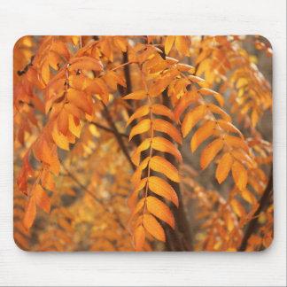 Ebereschen-Blätter - Herbst Mauspad