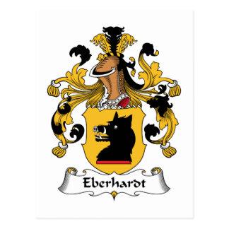 Eberhardt Familienwappen Postkarte