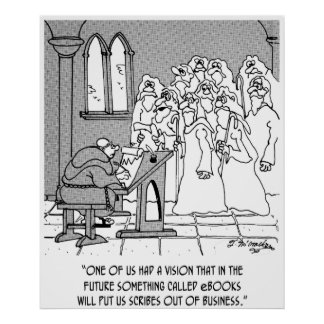 eBook Cartoon 8422 Poster