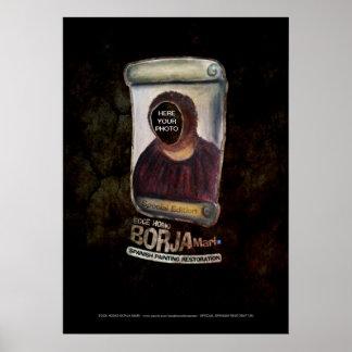 Ecce Homo Borja Special Edition Von Poster