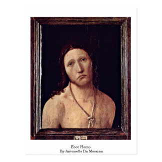 Ecce Homo durch Antonello DA Messina Postkarte