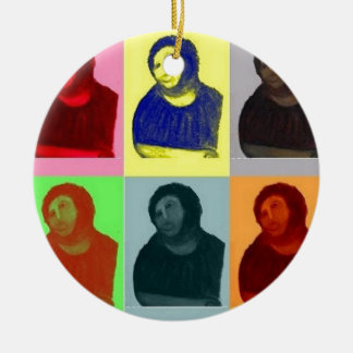 Ecce Homo - Pop-Kunst-Art Keramik Ornament