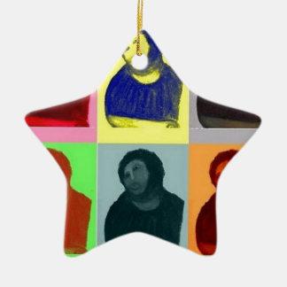 Ecce Homo - Pop-Kunst-Art Keramik Ornament