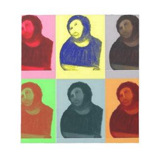 Ecce Homo - Pop-Kunst-Art Notizblock