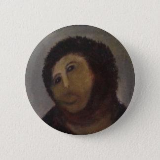 Ecce Homo Runder Button 5,7 Cm