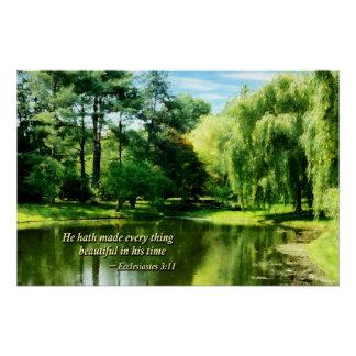 Ecclesiastes 3 11 er Hath alles Beautifu gemacht Poster