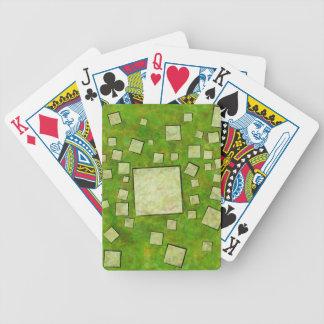 Eccletinos V1 - Mosaikkarte Bicycle Spielkarten