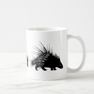 Echidna, Igel, Stachelschwein-Tasse Kaffeetasse
