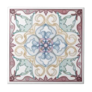 Eckspiegel klassische geometrische 4 keramikfliese
