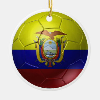Ecuador-Ball Keramik Ornament