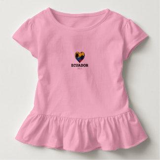 Ecuador-Fußball-Shirt 2016 Kleinkind T-shirt