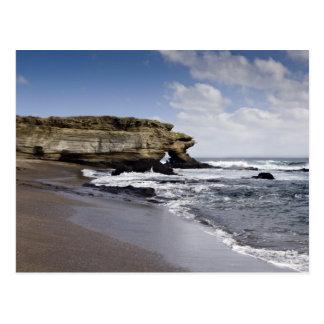Ecuador, Galapagos, Santiago alias James). 3 Postkarte