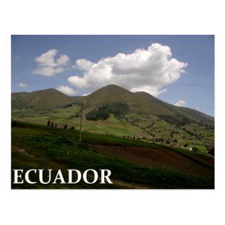 Ecuador-Landschaft Postkarte
