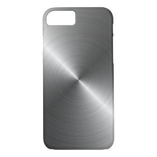 Edelstahl-Metallblick iPhone 7 Fall iPhone 8/7 Hülle