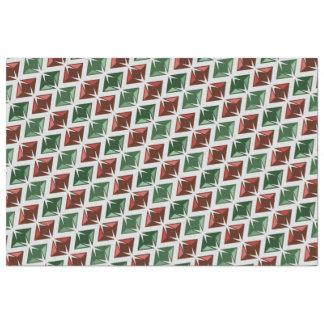 Edelstein-rote grüne Diamanten Seidenpapier