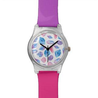 Edelsteine Armbanduhr