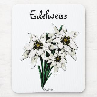 Edelweiss Blumen Mousepads