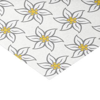 Edelweiss Blumen-Seidenpapier Seidenpapier