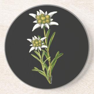 Edelweiss BlumenUntersetzer Untersetzer