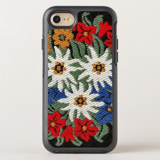 Edelweiss Schweizer alpine Blume OtterBox Symmetry iPhone 8/7 Hülle