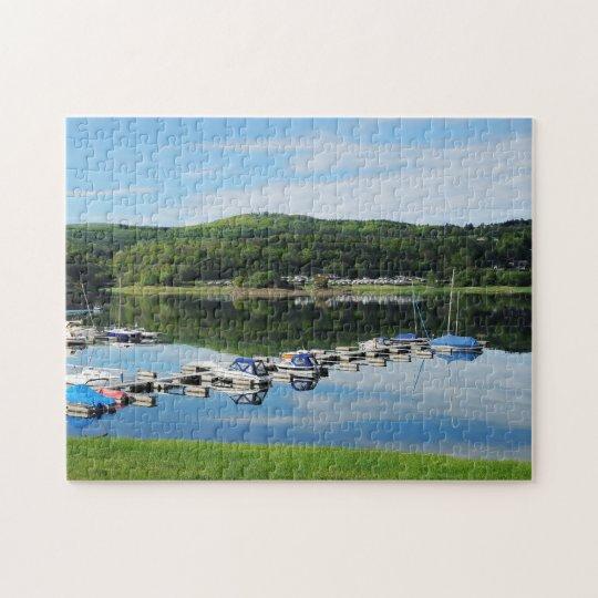 Edersee Bucht bei Scheid Puzzle