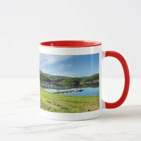 Edersee Bucht bei Scheid Tasse
