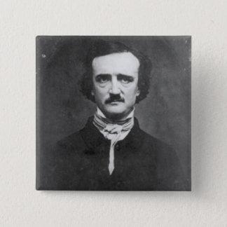 Edgar Allan Poe-1848 Quadratischer Button 5,1 Cm