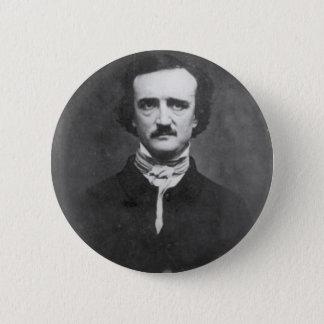 Edgar Allan Poe-1848 Runder Button 5,7 Cm