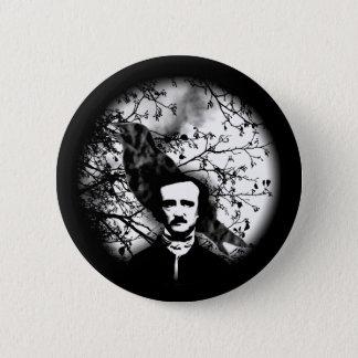 Edgar Allan Poe 'das Raven Runder Button 5,1 Cm
